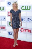 LOS ANGELES - JUL 29:  Tiffany Coyne arrives at the CBS, CW, and Showtime 2012 Summer TCA party at B