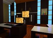 picture of minimalis  - Design interior for karaoke room - JPG