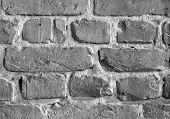 Brick Wall, B&W