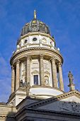 German Cathedral Dome And Statues