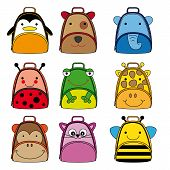animal shaped backpacks