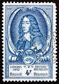 Postage Stamp Belgium 1952 Count Lamoral Ii, Imperial Postmaster