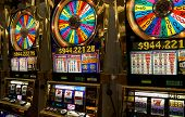 image of slot-machine  - Photo of slot machines close - JPG