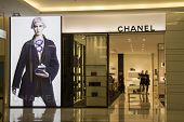 Bangkok, Thailand - Oct 11Th: Chanel Store In Siam Paragon Mall On Oct 11Th 2012. Chanel Is One Of M