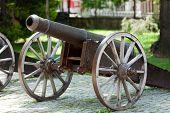 Bursa - Cannons on hill near Clock Tower