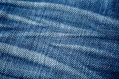Fundo de textura Jeans azul