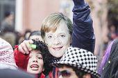 Alexandroupolis, Greece - March 16: Unidentified Participant Of Carnival Parade In Alexandroupolis O