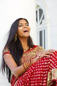 Indian Woman Laughing