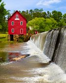 Starr's Mill, a historic landmark near Atlanta, Georgia