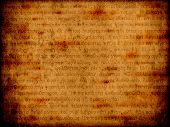 Old Religious Bible Manuscript Background