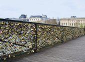 Padlocks On The Bridge Of All Lovers.