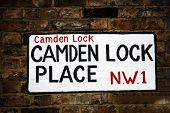 London Street Sign, Camden