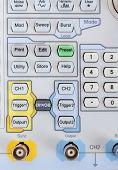Keyboard Of Professional Modern Test Equipment - Analyzer