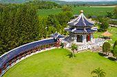 Drie koninkrijken Park, Pattaya City, Thailand