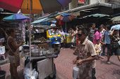 Bangkok, Thailand - Sept 17Th: Bustling Sampeng Lane In Chinatown On September 17Th 2012. Sampeng La