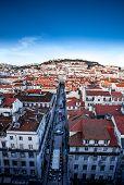 Lisbon street view