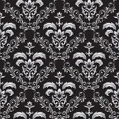 Seamless Gothic Ornament