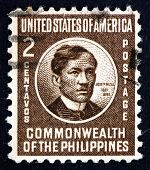 Postage Stamp Philippines 1946 Jose Rizal, National Hero