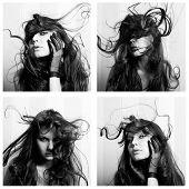 Collage Of Beautiful Women