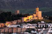 Castelo dos mouros em Antequera, Espanha
