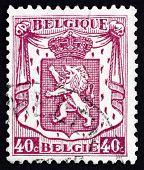 Postage Stamp Belgium 1938 Coat Of Arms Of Belgium