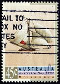 Postage Stamp Australia 1992 Britannia, Sailing Ship