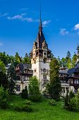 Main Tower Of The Peles Castle