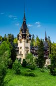 Side View Of Peles Castle