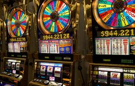stock photo of slot-machine  - Photo of slot machines close - JPG