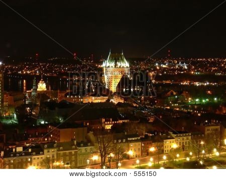 poster of Quebec City At Night