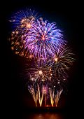 foto of firework display  - Marvelous multi - JPG