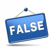 stock photo of tell lies  - false or wrong answer or statement telling lies - JPG