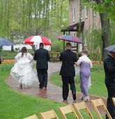 Rainy Wedding Day poster