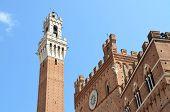 Italian historical city - Siena, Tuscany.