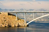 Bridge, Pag Island, Croatia