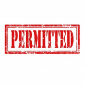 Permitted-stamp
