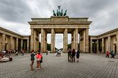 The Brandenburger Tor (brandenburg Gate) In Berlin, Germany