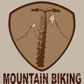 Badge biking design
