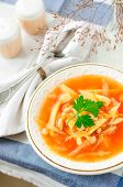 Russian Cabbage Soup, Shchi (stchi)