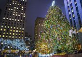 Rockefeller Center Lights 2013