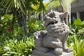 Asian Lion Gate Guardian