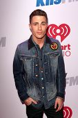 LOS ANGELES - DEC 6:  Colton Haynes at the KIIS FM Jingle Ball 2013 at Staples Center on December 6, 2013 in Los Angeles, CA