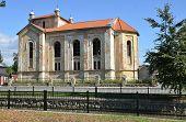 Old Disrepair Jewish Synagogue In Bytca, Slovakia