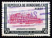 Postage Stamp Honduras 1956 Toncontin Airport, Tegucigalpa