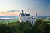 Castle Neuschwanstein In Germany