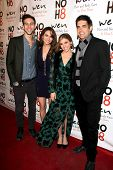 LOS ANGELES - DEC 15:  Blake Berris, Chrishell Stause, Kate Mansi, Galen Gering at the NOH8 Campaign