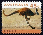 Postage Stamp Australia 1994 Kangaroo, Marsupial Mammal
