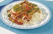 Chinese Rice Pasta Dish