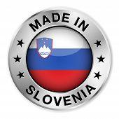 Made In Slovenia Silver Badge