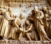 .marble Relief Biblical